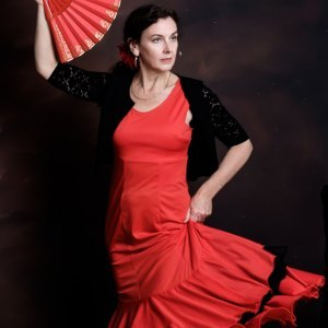 Flamenco dancer and flamenco events organiser Sarah Chambers