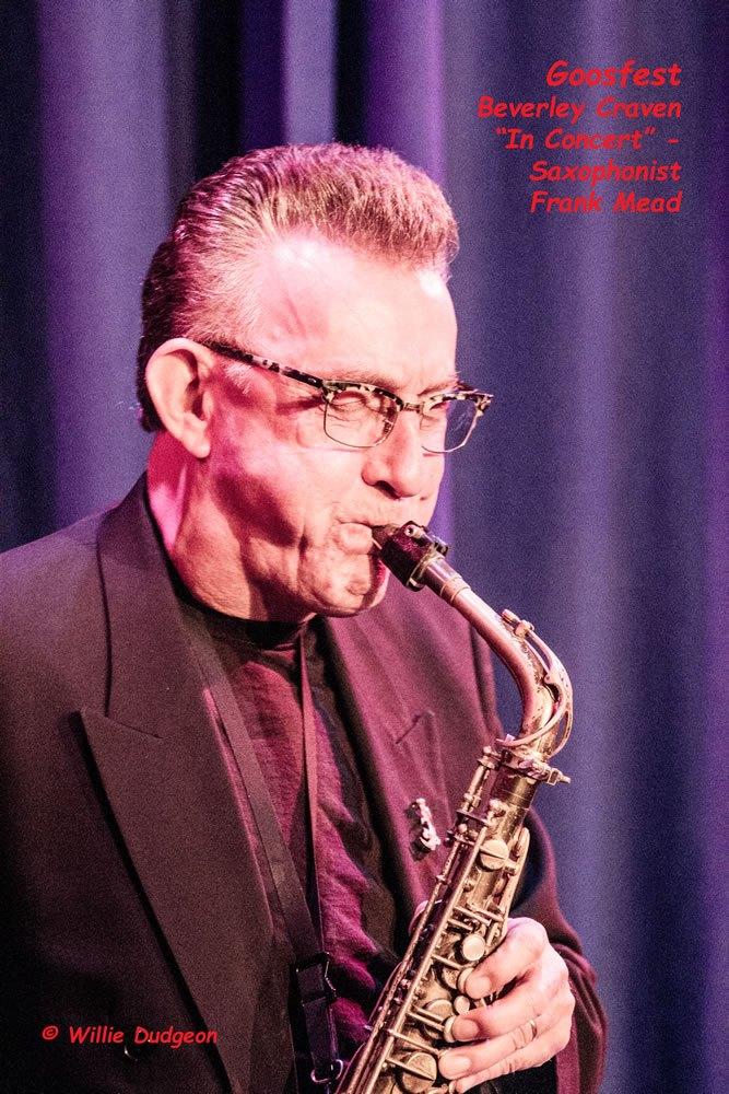 Beverley Craven in Concert - saxophonist Frank Mead