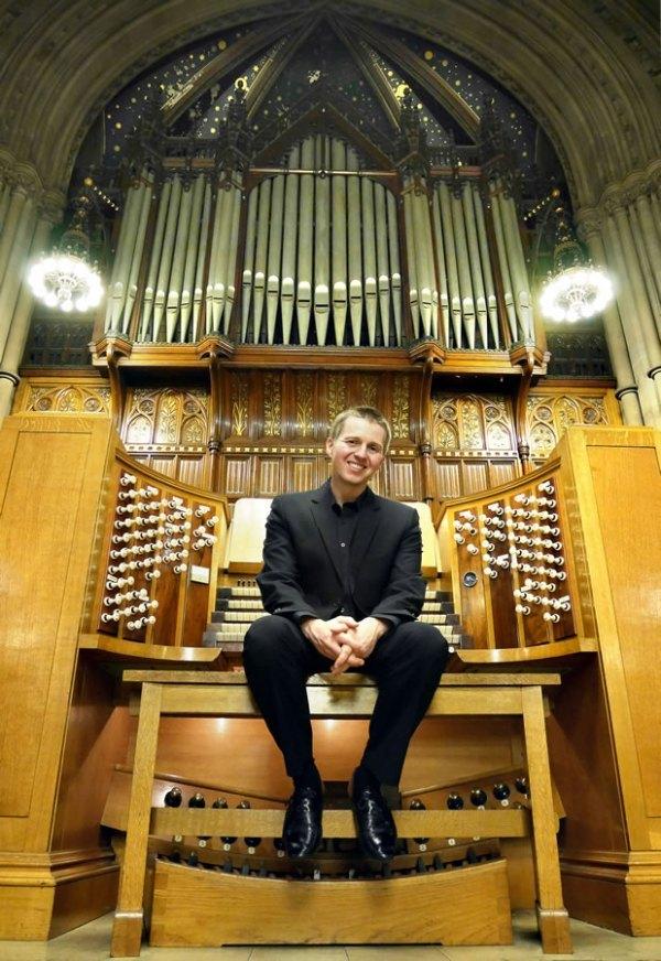 'Organ Spectacular' - An organ recital by Jonathan Scott
