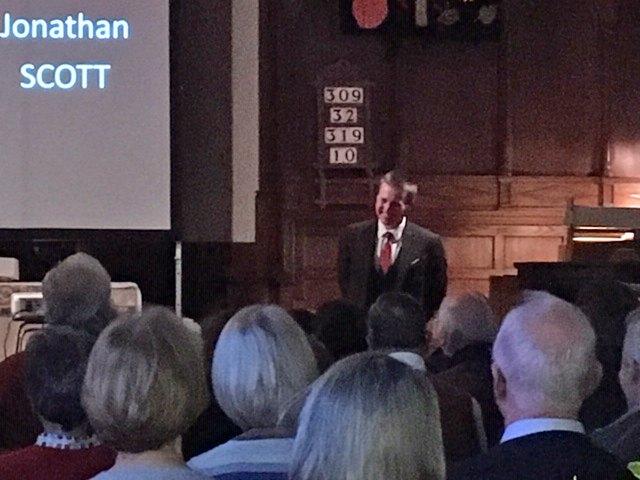 Jonathan Scott, Organist