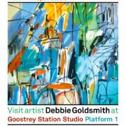 Artist Debbie Goldsmith opens up her new studio space